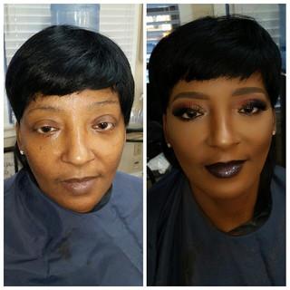 Makeup and 3 D Mink Lash
