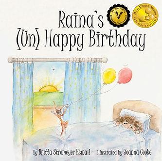 Raina's Unhappy Birthday Cover with 2 aw