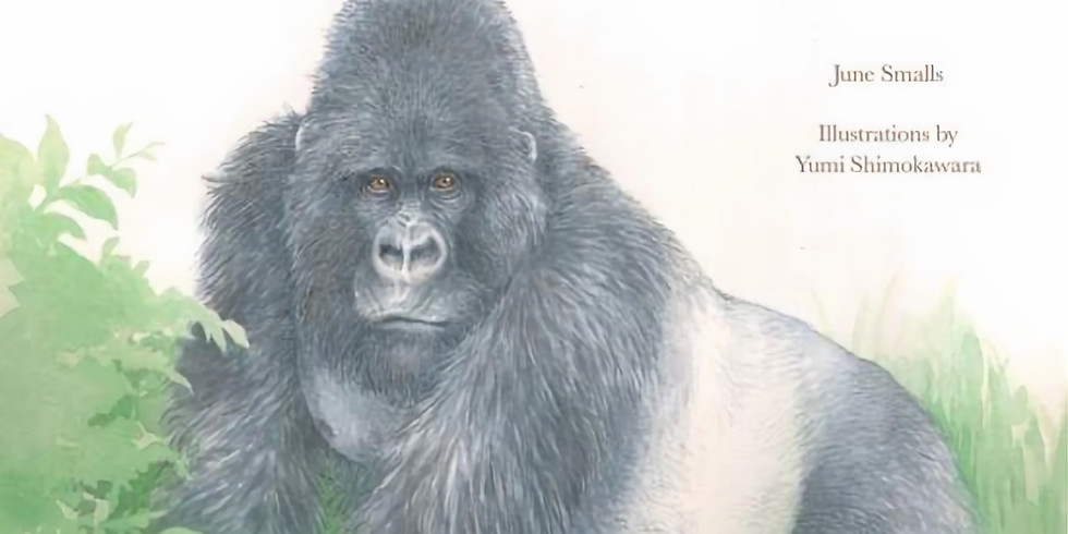 BOOK RELEASE! He Leads: Mountain Gorilla, the Gentle Giant, by June Smalls