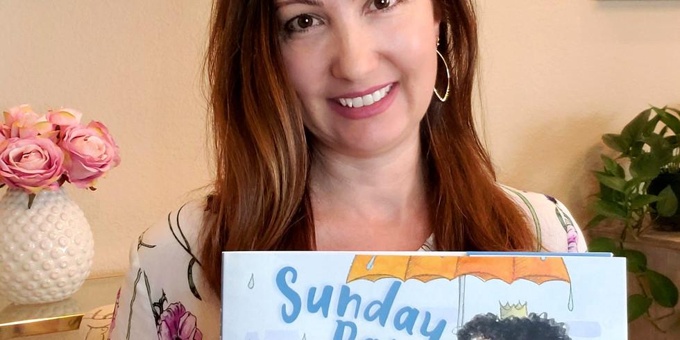 READ ALOUD! Sunday Rain, read aloud by author, Rosie J. Pova.