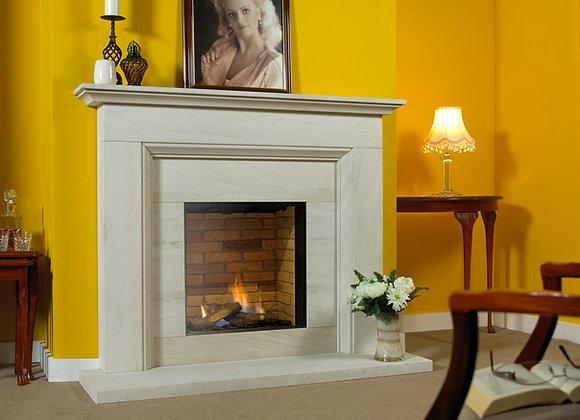 Durham Limestone Fireplace