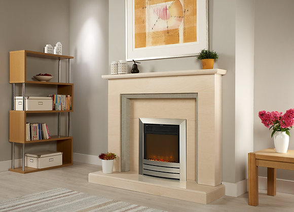 Arley Limestone Fireplace