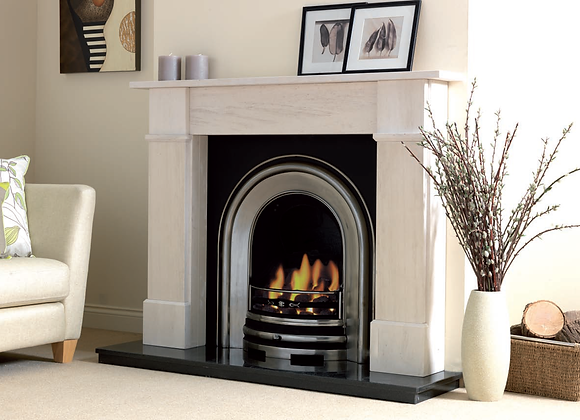 Westminster Limestone Fireplace