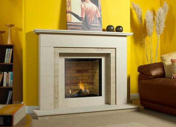 Waldon Limestone Fireplace