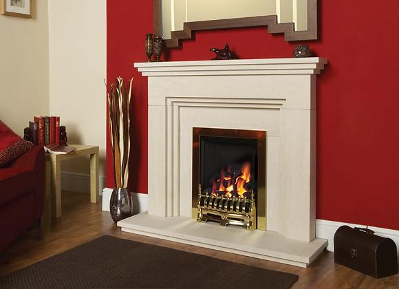 Thornton Limestone Fireplace