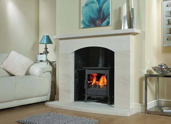 Bayham Limestone Fireplace