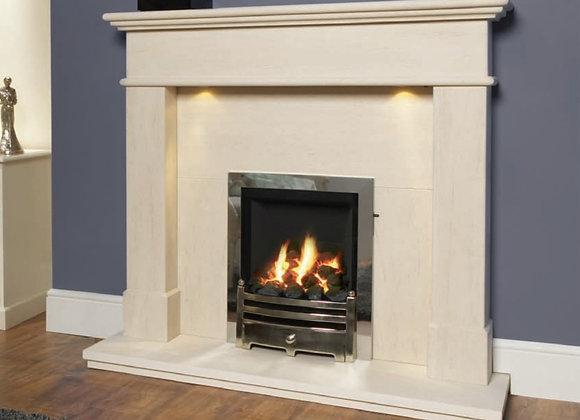 Kelso Limestone Fireplace