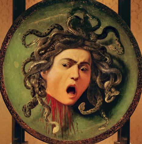 Carrivagio Head of Medusa
