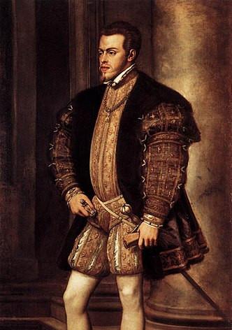 Philip II King of Spain