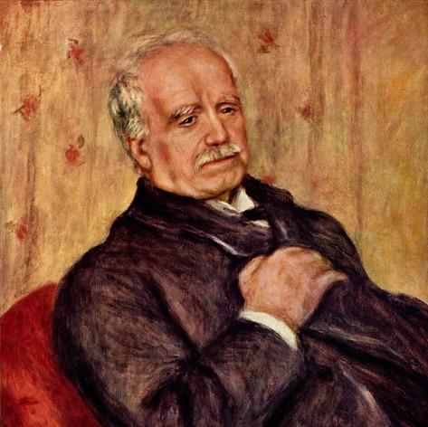 Paul Durand-Ruel. By Renoir