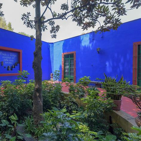 The Blue House a.k.a Casa Azul. Frida Khalo's home and no