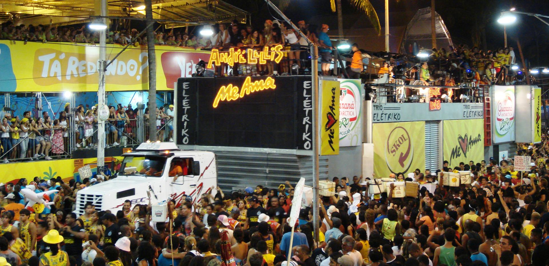 Carnival Trio Electrio and viewing area[
