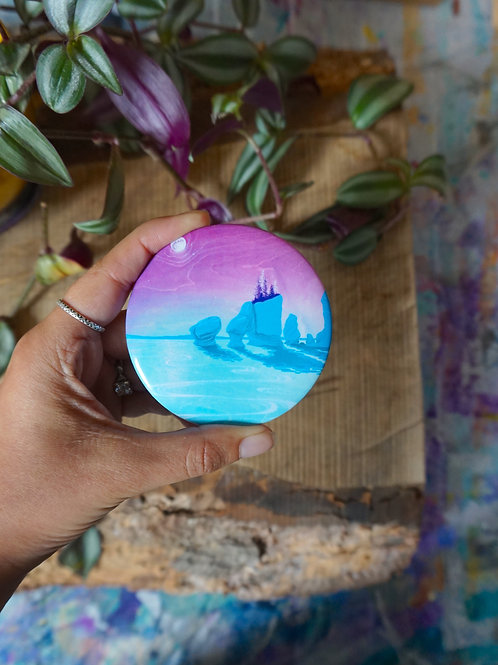 Hopewell Dreaming - Button Magnet