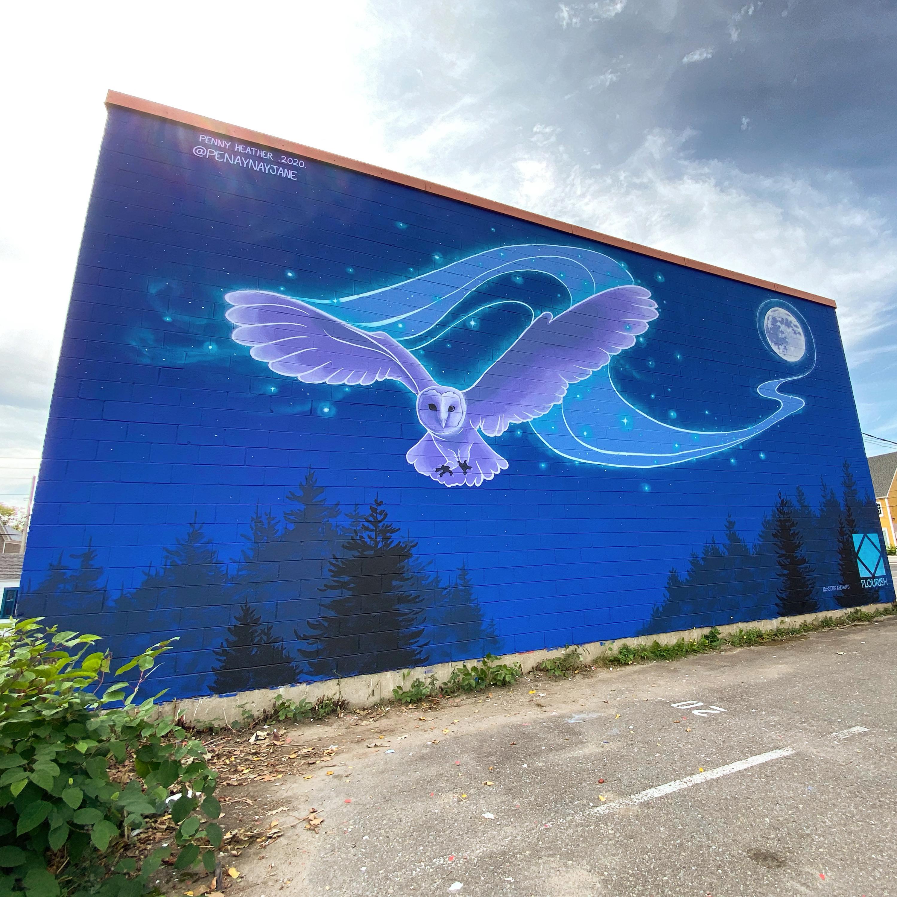 Fond Farewell mural