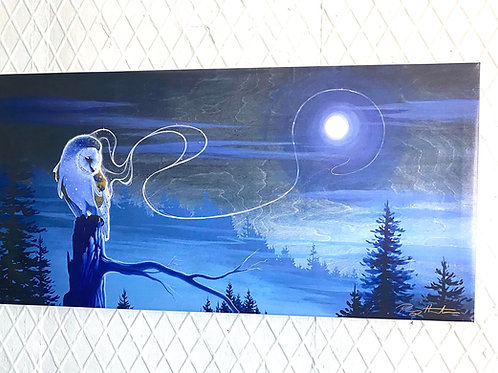 Twilights Vessel - Stretched Canvas - Ready To Hang