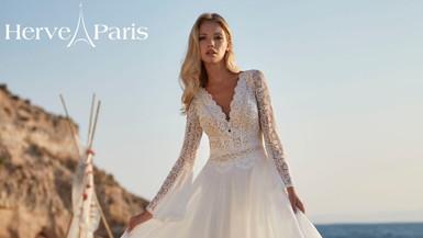 Herve Robe de mariée Hervé Paris Vendome