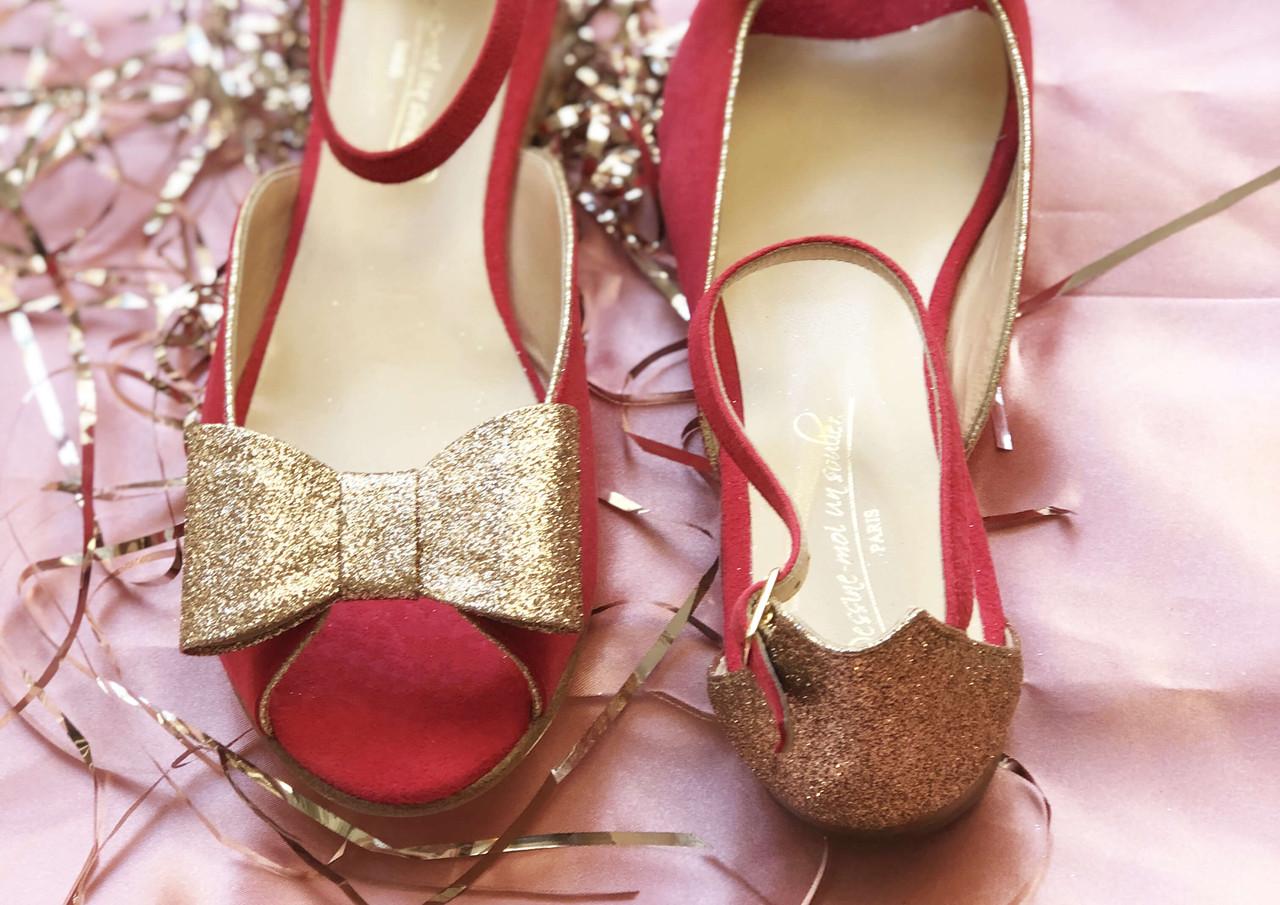 La sandale Dessine-moi un soulier
