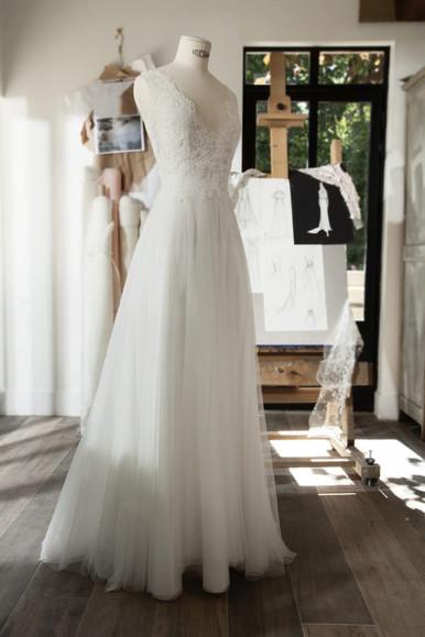 Robe de mariée Cymbeline Cachou