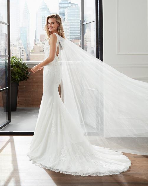 Robe de mariée Luna Novias Leathan