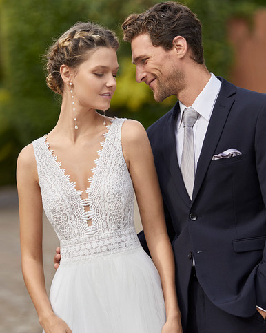 Robe de mariée Alma Novia Mila
