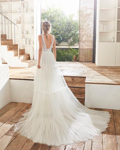 Robe de mariée Rosa Clara Cami