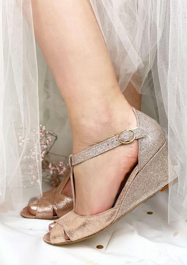Le talon compensé Dessine-moi un soulier