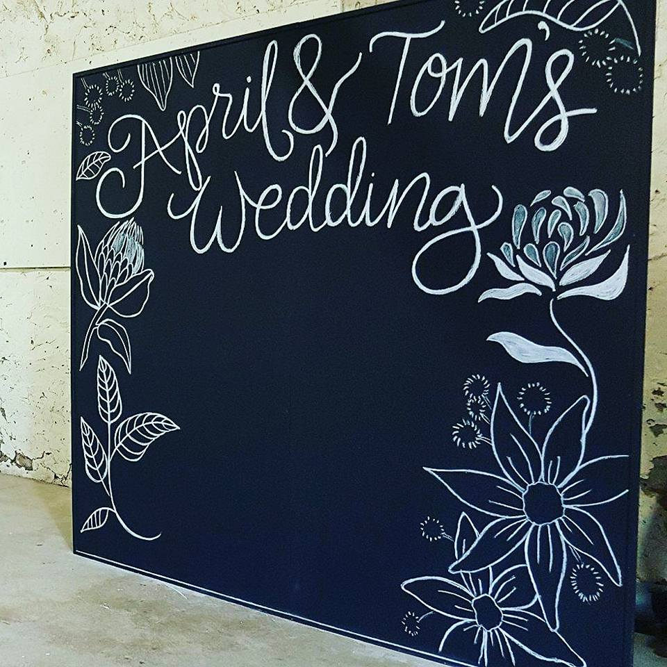 Large Chalkboard Backdrop