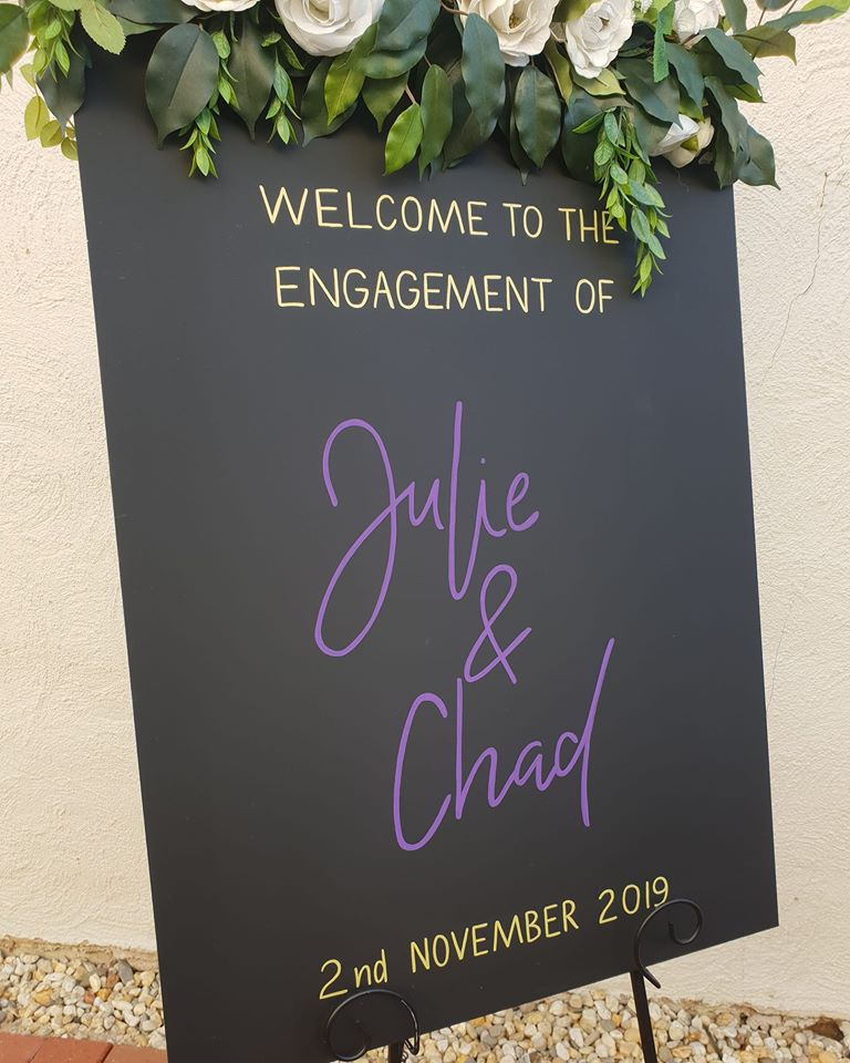 Engagement Sign