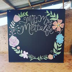 Large Blackboard Backdrop