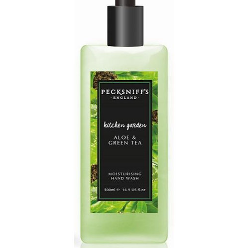 Pecksniffs Kitchen Garden 500ml Hand Wash Aloe & Green Tea
