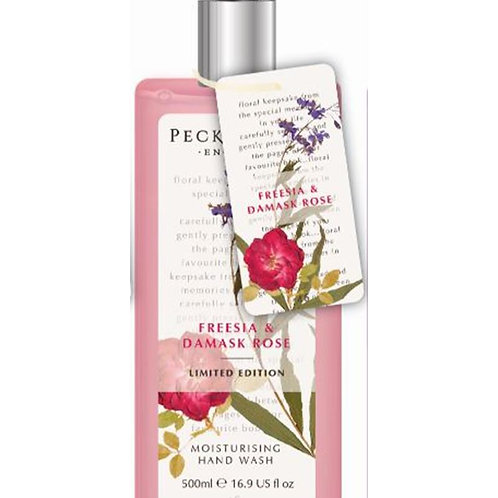 Pecksniffs Vintage Posies 500ml Hand Wash Freesia & Damask Rose