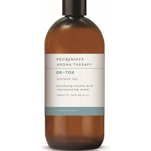 Pecksniffs Aromatherapy 500ml Shower Gel De-Tox