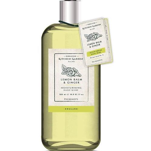 Pecksniffs Kitchen Garden 500ml Hand Wash Lemon Balm & Ginger