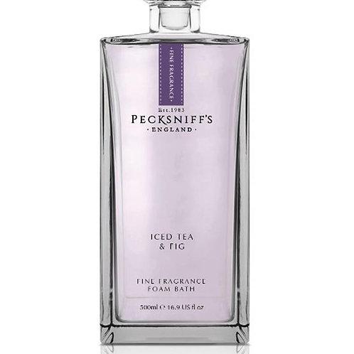 Pecksniffs Prestige 500ml Bath Soak Decanter Iced Tea & Fig