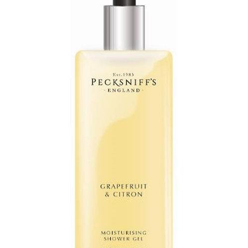 Pecksniffs Classic 1L Square Shower Gel Grapefruit & Citron