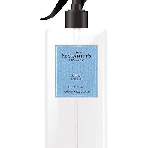 Pecksniffs Classic 1Litre Linen Spray Cotton Sheets