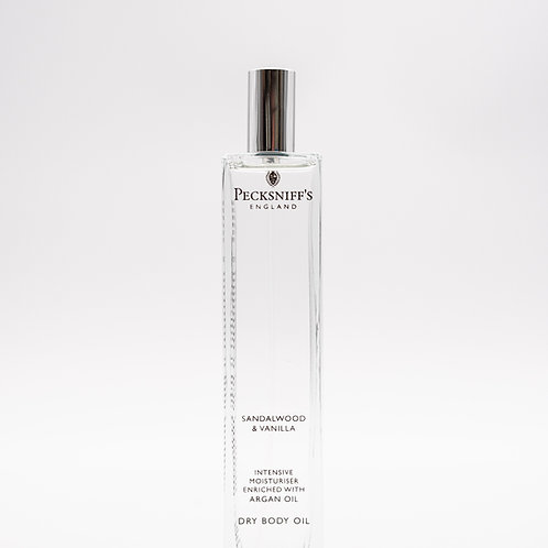 Pecksniffs Classic 100ml Body Oil Sandalwood & Vanilla