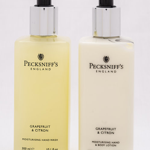 Pecksniffs Classic 300ml Caddy Grapefruit & Citron