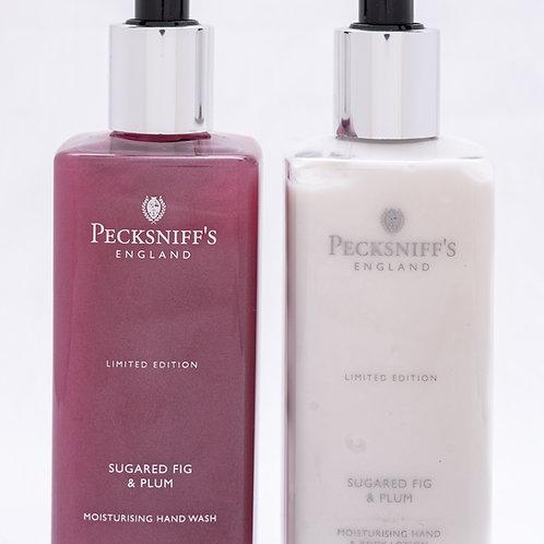 Pecksniffs Autumn/Winter 300ml Caddy Sugared Fig & Plum