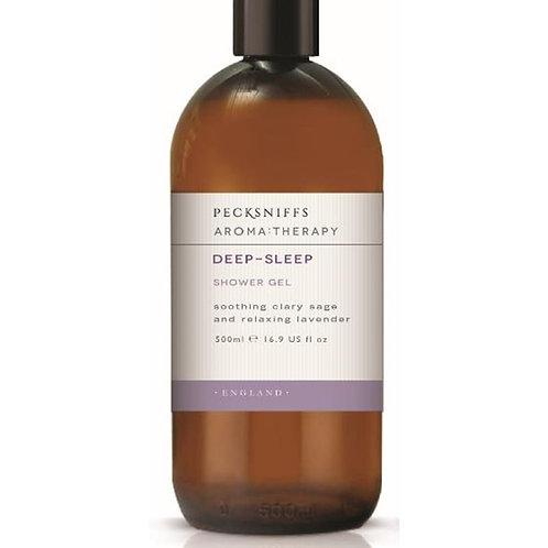 Pecksniffs Aromatherapy 500ml Shower Gel Deep-Sleep