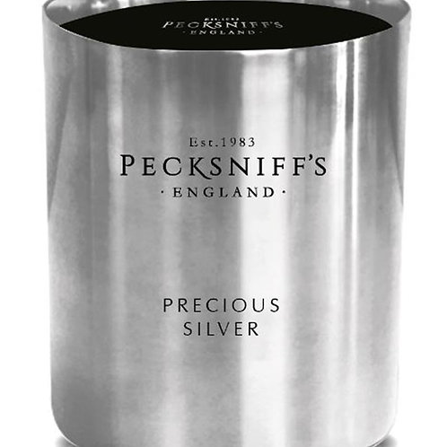 Pecksniffs Jewel Tall 3W Candle Precious Silver