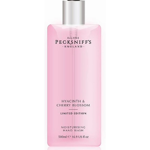 Pecksniffs Spring/Summer 500ml Hand Wash Hyacinth & Cherry Blossom
