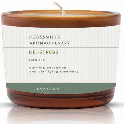 Pecksniffs Aromatherapy Amber 3W Candle De-Stress