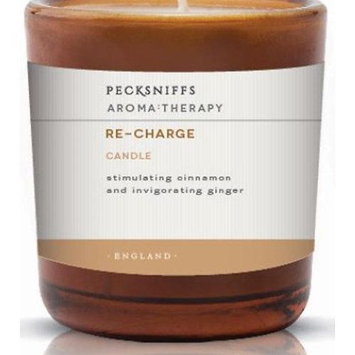 Pecksniffs Aromatherapy Amber Mini 1W Candle Re-Charge