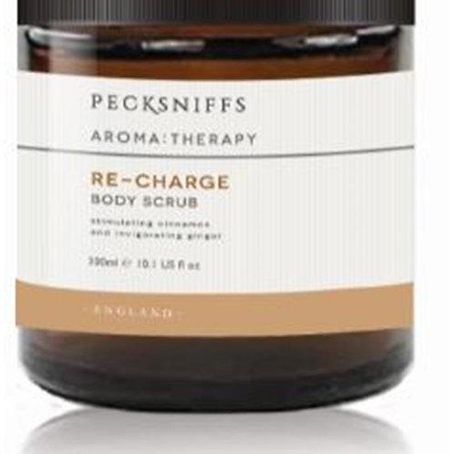 Pecksniffs Aromatherapy 500g Scrub Re-Charge