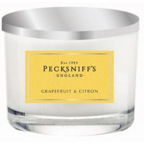 Pecksniffs Classic 3W Candle Grapefruit & Citron
