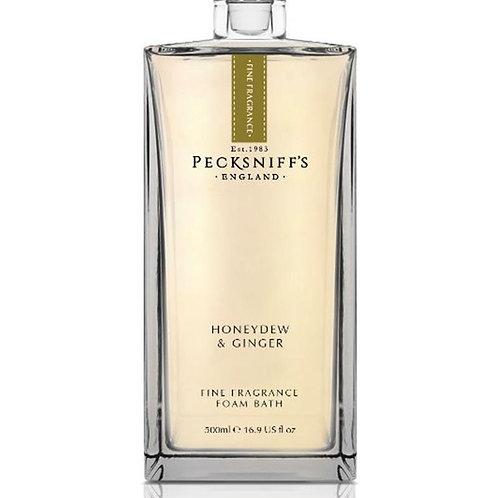 Pecksniffs Prestige 500ml Bath Soak Decanter Honeydew & Ginger