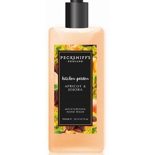 Pecksniffs Kitchen Garden 500ml Hand Wash Apricot & Jojoba