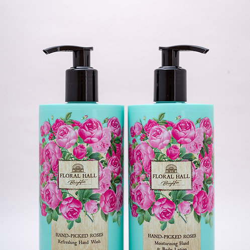 Pecksniffs Floral Hall 500ml Caddy Hand Picked Roses