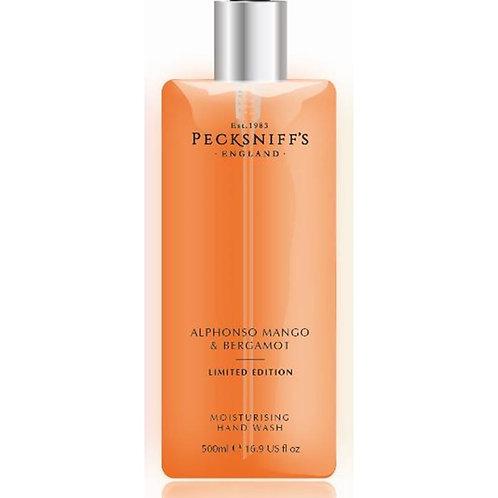 Pecksniffs Spring/Summer 500ml Hand Wash Alphonso Mango & Bergamot